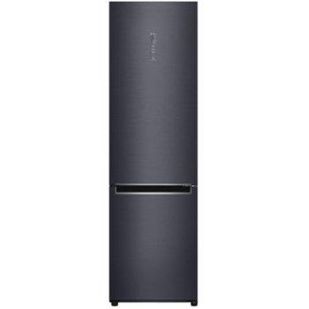Хладилник с фризер LG GBB92MCAXP, клас A+++, 384 л. общ обем, свободностоящ, 172 kWh/годишно разход на енергия, No Frost, черен image