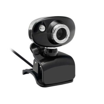 Уеб камера, BC2013, с вградн микрофон, 640 x 480 / 30FPS, 3.0 мегапиксела, размер на изображението - 2560 x 1920, черна image
