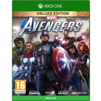 Игра за конзола Marvel's Avengers - Deluxe Edition, за Xbox One image