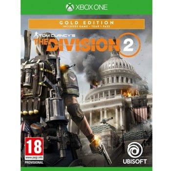 Игра за конзола Tom Clancy's The Division 2 Gold Edition, за Xbox One image