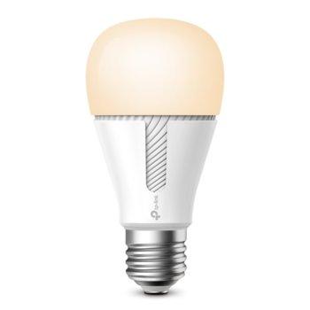 Смарт крушка TP-Link Kasa Smart KL110, E27, 800lm, 2700K, Wi-Fi, бяла image