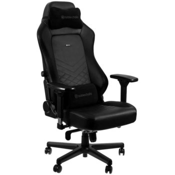 Геймърски стол Noblechairs HERO, кожа, до 150kg, черен image