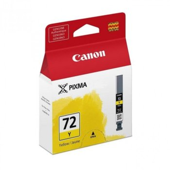 ГЛАВА ЗА Canon PIXMA PRO-10 - Yellow - 6406B001AA P№ PGI-72 - Заб.: 14ml image