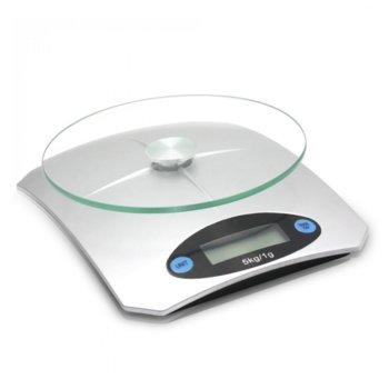 Кухненски кантар Sapir SP 1651 K, дигитален, до 5кг., LCD дисплей, сив image
