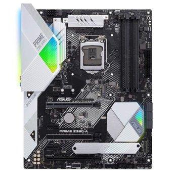 Дънна платка Asus PRIME Z390-A, Z390, LGA1151, DDR4, PCI-Е (DP&HDMI)(SLI&CFX), 6x SATA 6Gb/s, 2x M.2 sockets, 1x USB 3.1 Type C, 3x USB 3.1 Gen2, Aura Sync RGB подсветка, ATX image