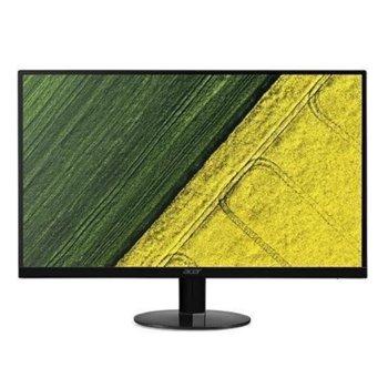 """Монитор Acer SA220QABI, 21.5"""" (54.61 cm) IPS панел, Full HD, 4ms, 100000000:1, 250cd/m2, HDMI, VGA image"""