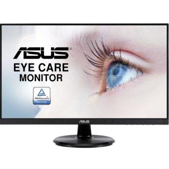 """Монитор Asus VA24DQ (90LM0543-B01370), 23.8"""" (60.5 cm) IPS панел, 75 Hz, Full HD, 5ms, 100000000:1, 250 cd/m2, HDMI, VGA, DisplayPort image"""