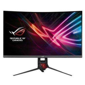 "Монитор Asus ROG Strix XG32VQR, 31.5"" (80.1 cm) VA 144Hz панел, QHD, 4ms, 3000:1, 450 cd/m2, DisplayPort, HDMI image"