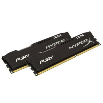 Памет 16GB (2x8GB) DDR4 2666MHz, Kingston HyperX Fury HX426C16FB2K2/16, 1.2V image