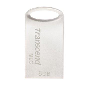 8GB Transcend JetFlash 720 Silver TS8GJF720S product