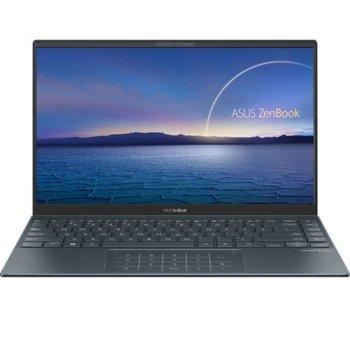"Лаптоп Asus Zenbook 14 UX425JA-WB301T (90NB0QX1-M03640), двуядрен Ice Lake Intel Core i3-1005G1 1.2/3.4 GHz, 14"" (35.56 cm) Full HD IPS Anti-Glare Display, (HDMI), 8GB LPDDR4X, 256GB SSD, 2x Thunderbolt 3, Windows 10 Home image"