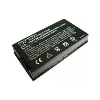 Батерия (заместител) за лаптоп Asus, съвместима със серия F50 F80 F81 F83 X57 X61 X82 X85 X55, 6 cells, 11.1V, 4400mAh image