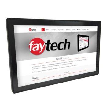 """Индустриален компютър Faytech 1010501758 FT27I5CAPOB, двуядрен Kaby Lake Intel Core i5-7300U 2.6/3.5 GHz, 27"""" (68.58 cm) Full HD Touchscreen, 8GB DDR4, 128GB SSD, 2x USB 3.0, Linux  image"""