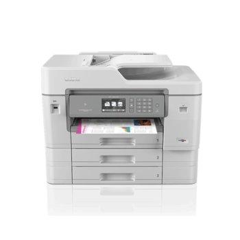 Мултифункционално мастиленоструйно устройство Brother MFC-J6947DW, цветен принтер/копир/скенер/факс, 4800 x 1200 dpi, 22 стр./мин, LAN, Wi-Fi, NFC, USB, A3 image