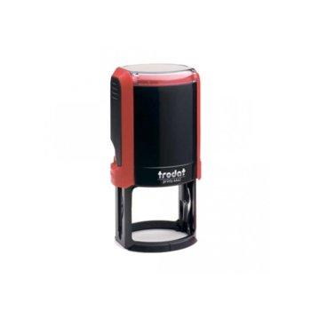 Автоматичен печат Trodat 4642 червен, Ф42mm, кръгъл image