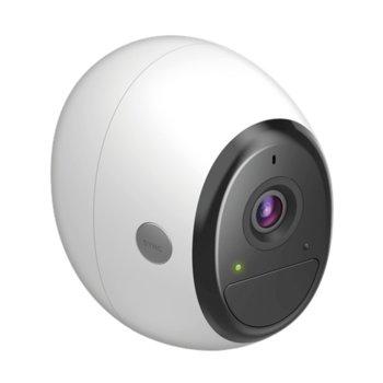 IP камера D-Link DCS-2800LH-EU, куполна, 1080p(1920x1080@24FPS), 1.9mm обектив, H.264, IR осветеност (до 7.5 метра), външна IP65, Wi-Fi, вграден микрофон image