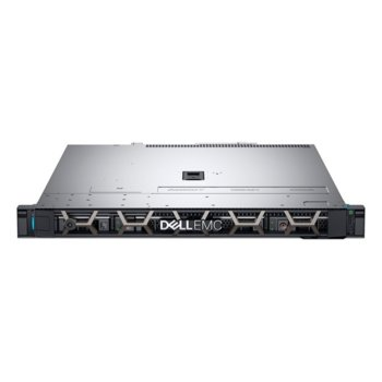 Сървър Dell PowerEdge R340 (PER340CEE01-0TB-14), четириядрен Coffee Lake Intel Core i3-8100 3.6GHz, 8GB DDR4 ECC, без твърд диск, 2x LAN, без ОС, 1x 250W PSU image