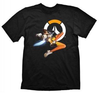 Тениска Gaya Entertainment Overwatch Tracer, размер S, черна image