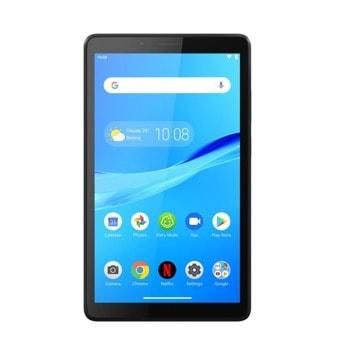 "Таблет Lenovo Tab M7 LTE (ZA570001BG), 4G LTE, 7"" (17.78 cm) HD IPS дисплей, четириядрен MediaTek MT8765 1.3GHz, 1GB RAM, 16GB eMMC Flash памет (+microSD слот), 2.0 & 2.0 MPix камера, Android, 236.9 g image"