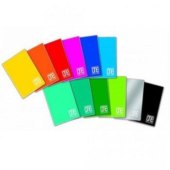 Тетрадка Blasetti one color, формат A4, офсетова хартия с широки редове, 42 листа image