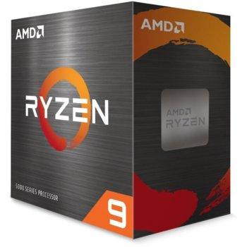Процесор AMD Ryzen 9 5950X, шестнадесетядрен (3.4/4.9GHz, 64MB Cache, AM4) BOX, без охлаждане image