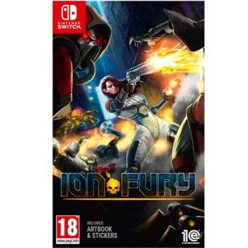Игра за конзола Ion Fury, за Nintendo Switch image