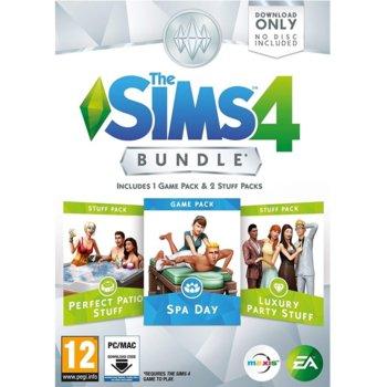 Допълнение към игра The Sims 4 Bundle Pack 1, за PC image