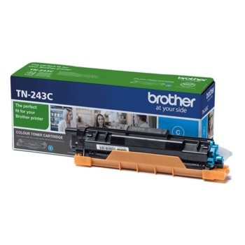 Тонер касета Brother TN-243C, Cyan (син), до 1 000 страници, ISO/IEC 19798 image