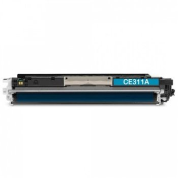 Тонер касета за HP LaserJet Pro 100 colorMFP M175a/colorMFP M175nw, HP LaserJet Pro 200 color MFP M275nw Printer, HP LaserJet Pro CP1025 Color Printer/CP1025nw Color Printer, Black - CE311A - 1108 - Неоригинален, Заб.: 1000 k image