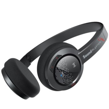 Слушалки Creative Sound Blaster Jam, Bluetooth, микрофон, черни image