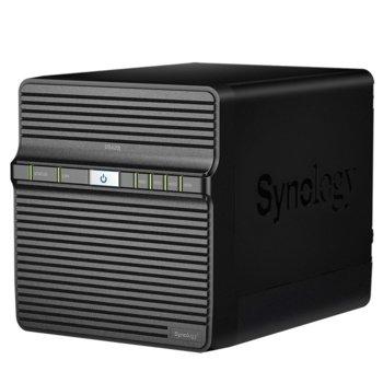 Мрежови диск (NAS) Synology DS420J, четириядрен Realtek RTD1296 1.4 GHz, без твърд диск, (4x SATA), 1GB DDR4, 2x USB 3.0  image