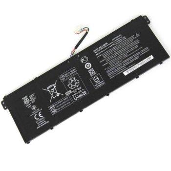 Батерия (оригинална) за лаптоп Acer, съвместима с модели Aspire R3-131T R5-571T Chromebook CB3-511 CB3-531 Swift 3 SF314 SF315, 14.8V, 3490mAh image