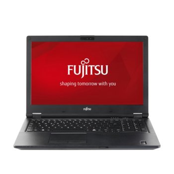 "Лаптоп Fujitsu Lifebook E459 (S26391-K482-V100_256_I5), четириядрен Kaby Lake R Intel Core i5-8250U 1.6/3.4 GHz, 15.6"" (39.62 cm) Full HD IPS Anti-Glare Display, (DP), 8GB DDR4, 256GB SSD, 1x USB 3.1 Type C, NO OS image"