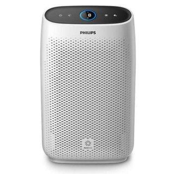 Пречиствател на въздух Philips AC1214/10, за помещения до 63 m2, 4 настройки на скоростта, технология AeraSense, бял image