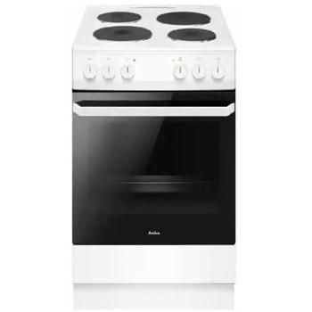 Готварска печка Amica 58EE2.20EPFW, 4 нагревателни зони, 62л. обем, 6 функции, вентилатор, бяла image