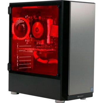 All in One компютър Cougar Thor, шестядрен Intel CPU i5-9600K 3.70/4.60 GHz, nVidia GTX1050Ti 4GB, 2x8GB DDR4, 1TB HDD+240GB SSD, VTE 500W image