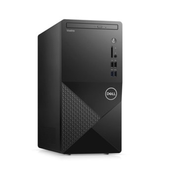Настолен компютър Dell Vostro 3888 MT (N112VD3888EMEA01_2101_M), шестядрен Comet Lake Intel Core i5-10400 2.9/4.3 GHz, 8GB DDR4, 256GB SSD, 4x USB 3.1 Gen 1, клавиатура и мишка, Windows 10 Pro image
