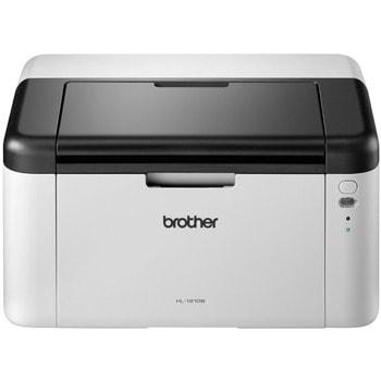 Лазерен принтер Brother HL-1210WE, монохромен, 2400x600dpi, 20стр/мин, WiFi, USB, A4, 2+1 г. image