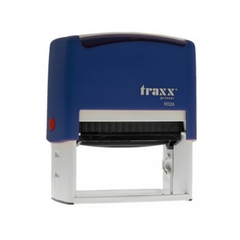 Автоматичен печат Traxx 9026 син, 75/38 mm, правоъгълен image