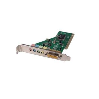 Звукова карта DF17491, 5.1 канала, PCI, 4x 3.5мм жака image