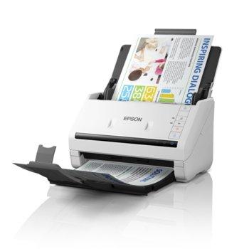 Скенер Epson WorkForce DS-770, 600 x 600 dpi, A4, двустранно сканиране, ADF, USB 3.0 image