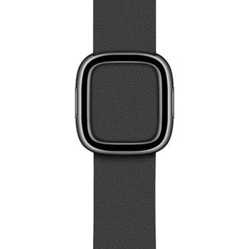 Каишка за смарт часовник Apple Watch (40mm) Black Modern Buckle - Large, черна image