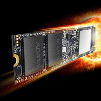 Памет SSD 1TB A-Data SX8100, NVMe, M.2 (2280), скорост на четене 3500MB/s, скорост на запис 3000MB/s image