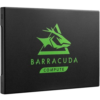 """Памет SSD 250GB, Seagate BarraCuda 120 (ZA250CM1A003), SATA3 6GB/s, 2.5""""(6.35 cm), скорост на четене 560 MB/s, скорост на запис 540 MB/s image"""