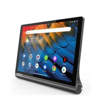 "Таблет Lenovo Yoga Smart Tab (ZA530043BG)(сив) 4G/LTE, 10.1"" (25.65 cm) WUXGA дисплей, осемядрен Snapdragon 439 2.0 GHz, 3GB RAM, 32GB Flash памет (+ microSD слот), 8.0 & 5.0 Mpix, Android image"