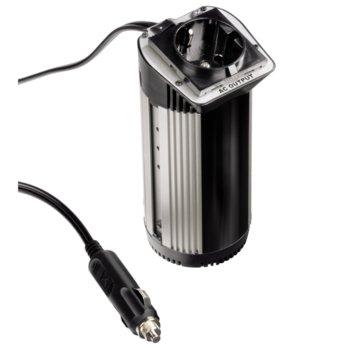 Инвертор HAMA, 12V DC -> 220V AC, 100W (280W max) product