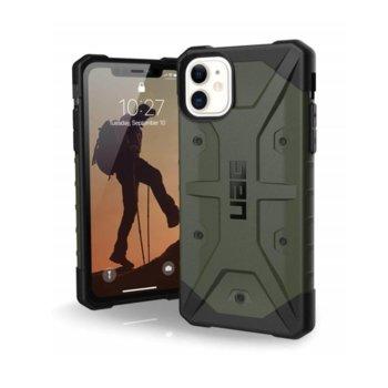 Калъф за Apple iPhone 11, хибриден, Urban Armor Pathfinder 111717117272, удароустойчив, тъмнозелен image
