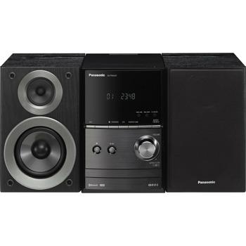 Аудио система Panasonic SC-PM600EG-K, 2.0, 40W RMS, Микро Hi-Fi система, Bluetooth, USB, черна image