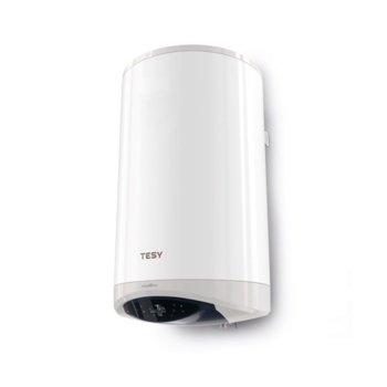 Електрически бойлер Tesy ModEco Cloud (GCV 120 47 24D C21 ECW), Wi-Fi, 120 л., 2400 W, стъклокерамично покритие, енергиен клас C, 47.0 x 115.0 x 49.6 cm, бял image
