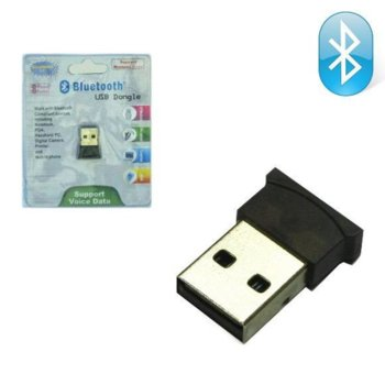 Адаптер Royal EDR2.0 MICRO, Bluetooth USB Dongle, Bluetooth 2.0, обхват до 20 метра, черен image